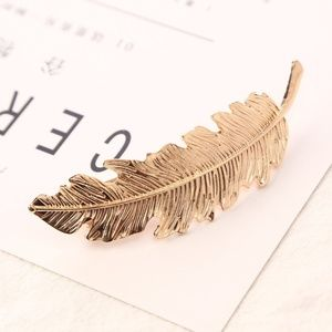 Accessories - 5 for $25 Gold Color Metal Feather Hair Pin